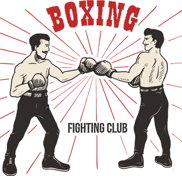 jpg royalty free stock Old School Boxing Wall Decal
