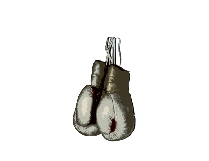 jpg freeuse library Boxing drawing vintage. Mysoti media gloves tees