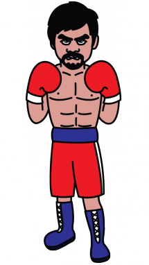 image royalty free stock Boxing drawing. How to draw a