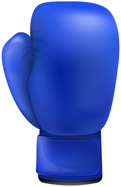 svg library library Blue Boxing Glove PNG Clip Art