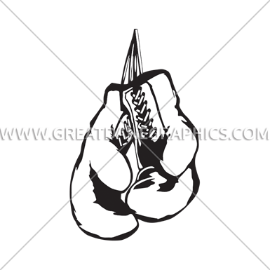 vector stock Boxing Gloves Line Drawing at GetDrawings