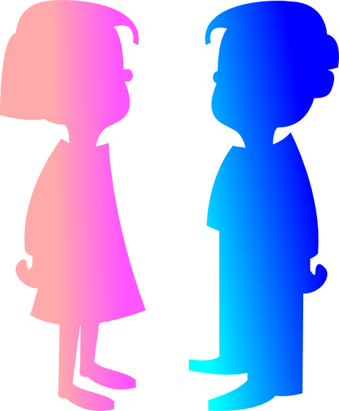 clip royalty free library Boy And Girl Clip Art at Clker