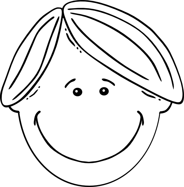 png freeuse Clip art at clker. Boy black and white clipart