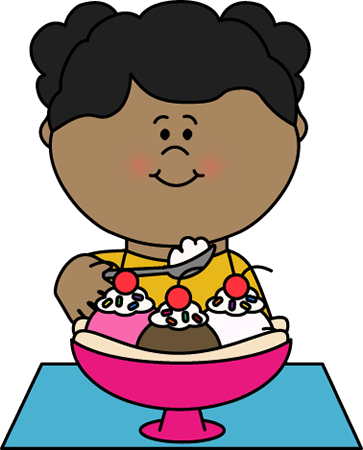 freeuse Clip art images eating. Boy clipart ice cream