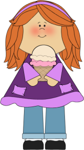clipart library download Clip art images girl. Boy clipart ice cream.