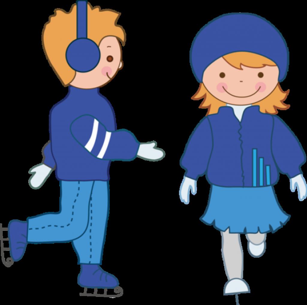 clipart free Ice skating skates figure. Hockey rink clipart