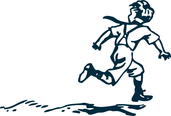clip art library library Boy clip art at. Drawing running