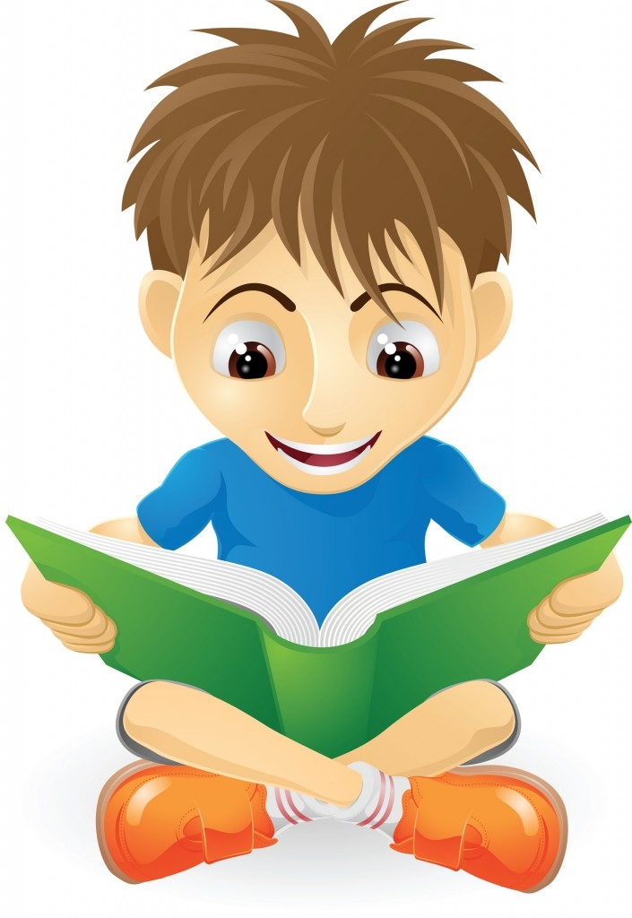 freeuse Kid studying clipart. Free boy cliparts download
