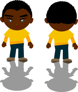 banner free library Ricardo Black Boy Png Clip Art at Clker