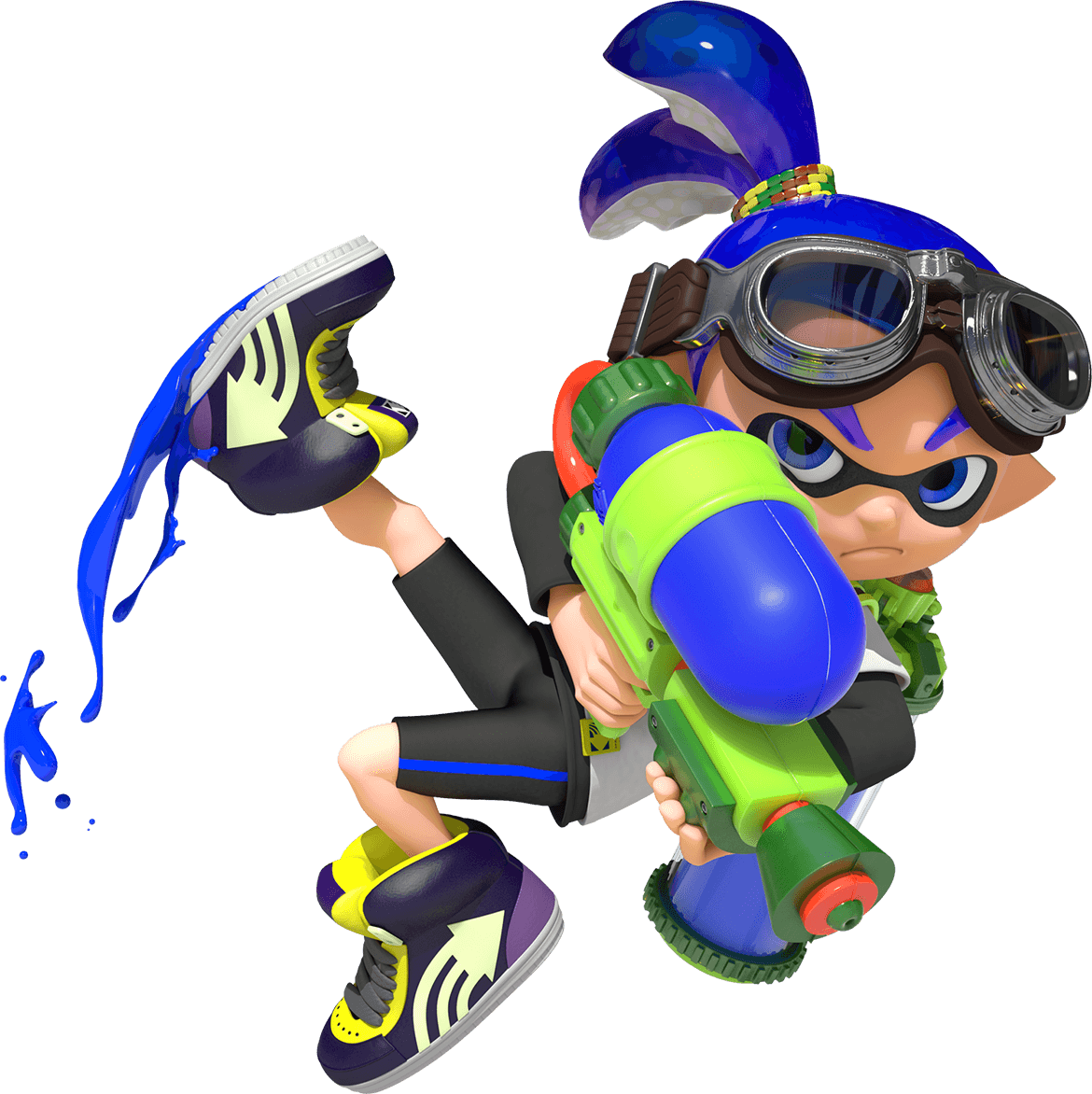 clip art library Image intro img png. Splatoon transparent boy