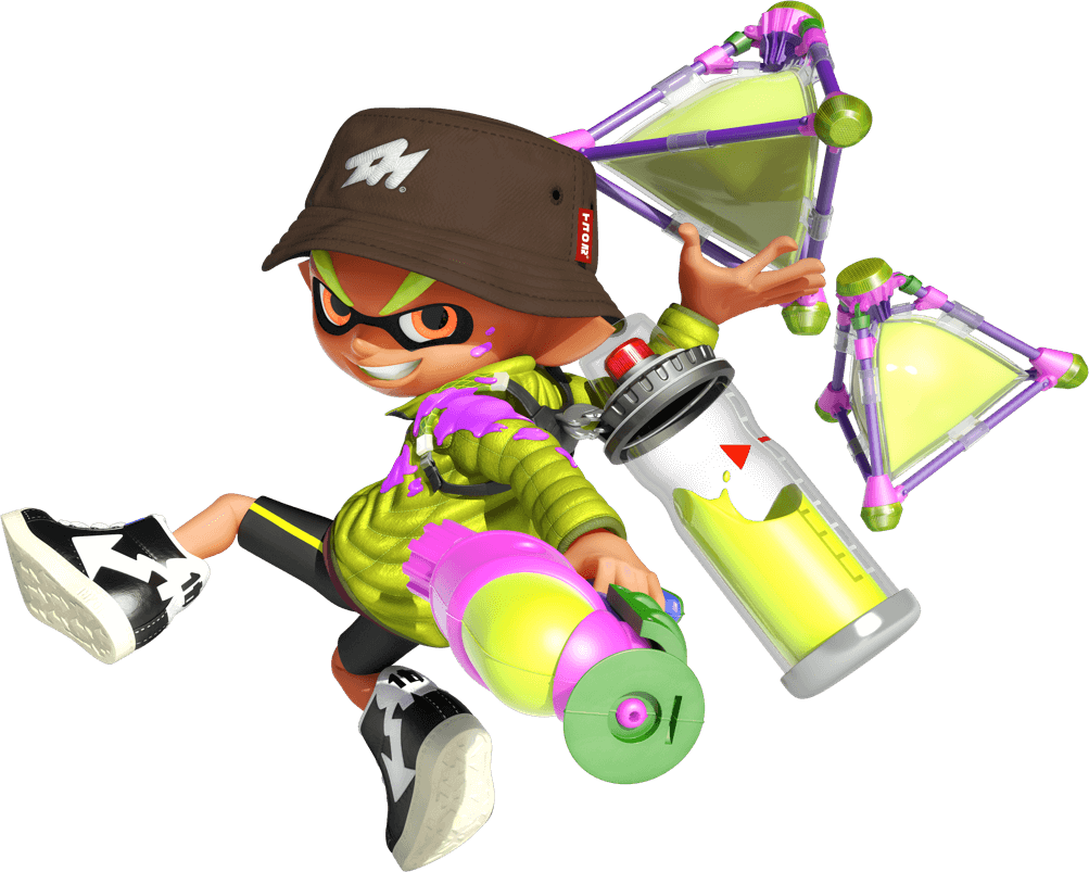 clipart free download Amiibo for nintendo switch. Splatoon transparent inkling