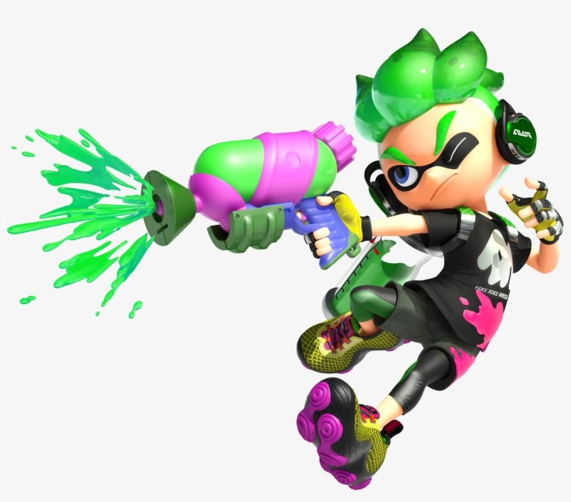 graphic library download Splatoon transparent male. Download free png inkling