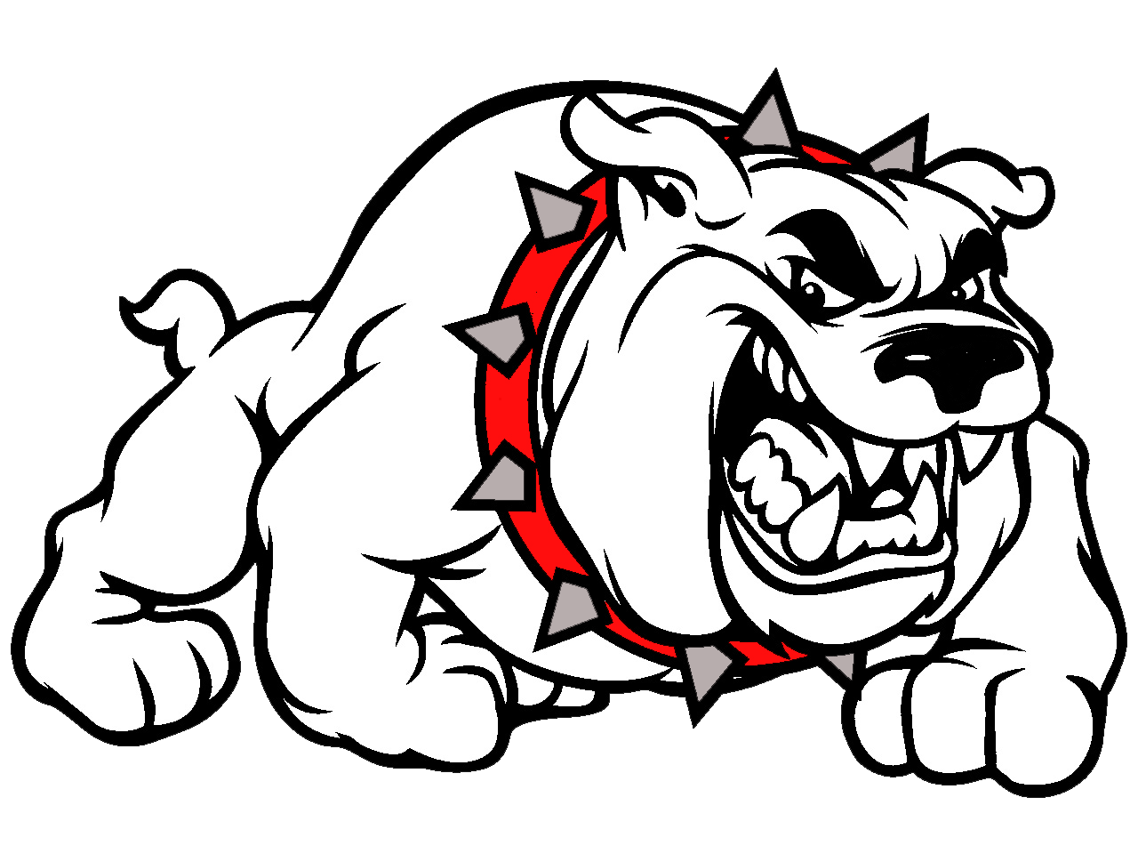 clip art library download High school basketball coahoma. Vector bulldog transparent