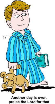 download Image boy going to. Boys clipart bedtime