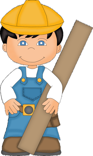 clip art freeuse download Boys clipart construction. Constructor workers electricians heart