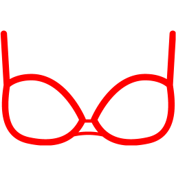 image black and white download Icon free clothes icons. Bra clipart red bra