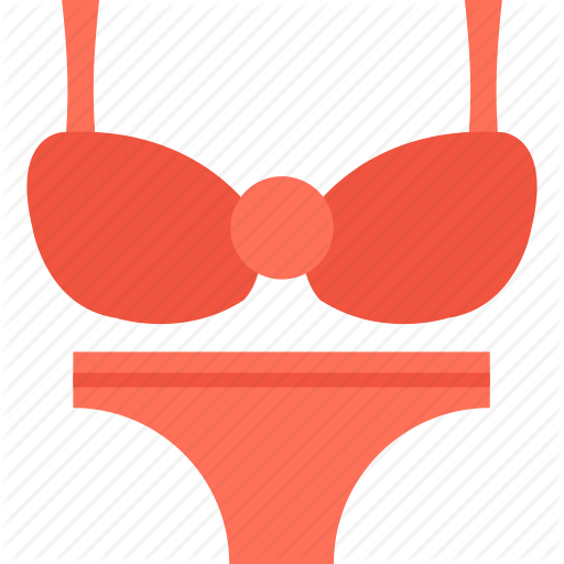 jpg freeuse Flat travel icons by. Bra clipart red bra
