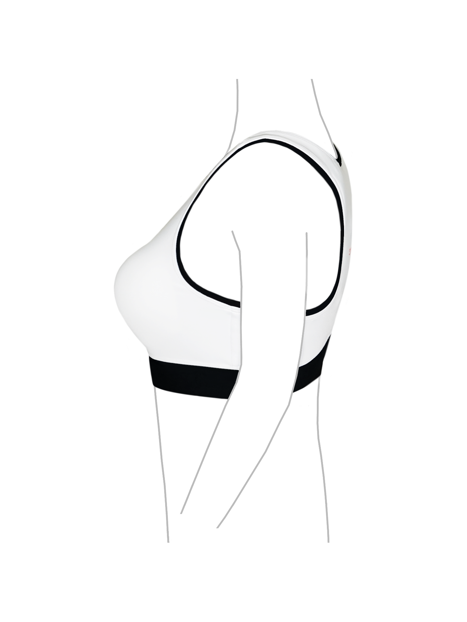 banner library Bra clipart right arm. Sport emglare heart