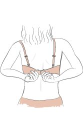 vector freeuse Bra clipart right arm. Transparent free for