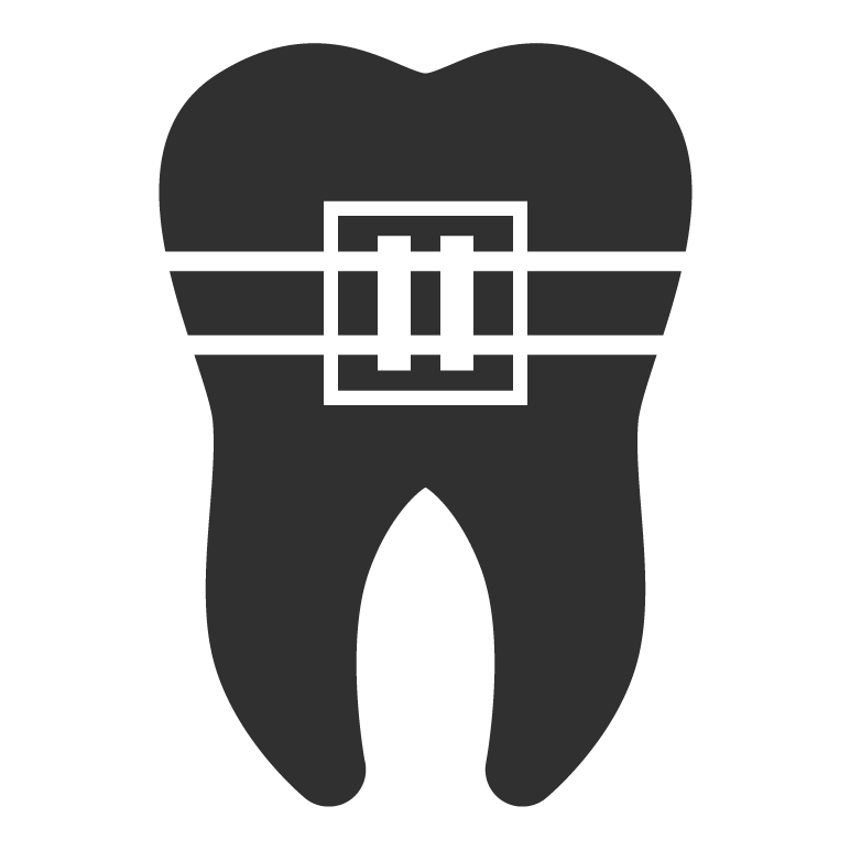 image stock Braces clipart black and white. Chandler dentist progressive dentistry