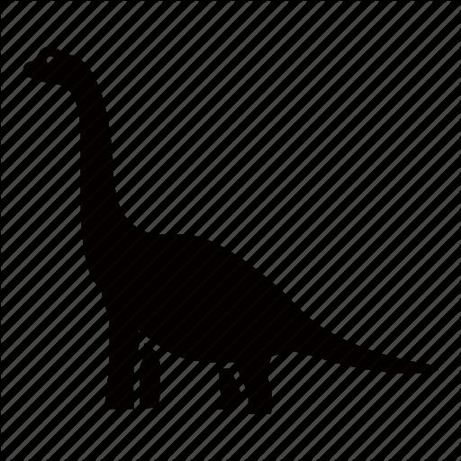 clip royalty free Brontosaurus Silhouette at GetDrawings