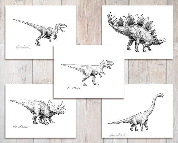 vector library brachiosaurus drawing stegosaurus #144503945