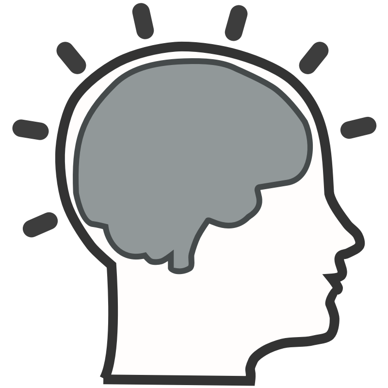 jpg freeuse Learning clipart. Silhouette brain at getdrawings.
