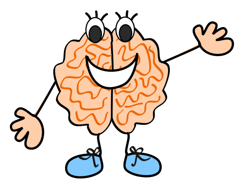 vector freeuse library Brain clipart for kids. Thinking clip art images.