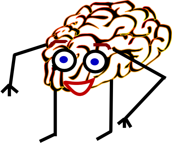 clip transparent Brain clipart man. Clip art at clker