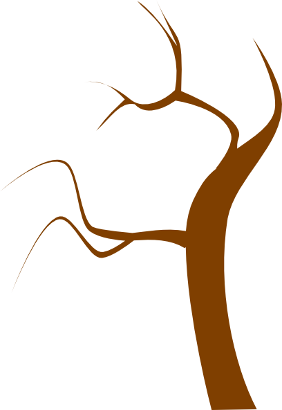 graphic freeuse stock Branch clipart. Brown clip art tree.