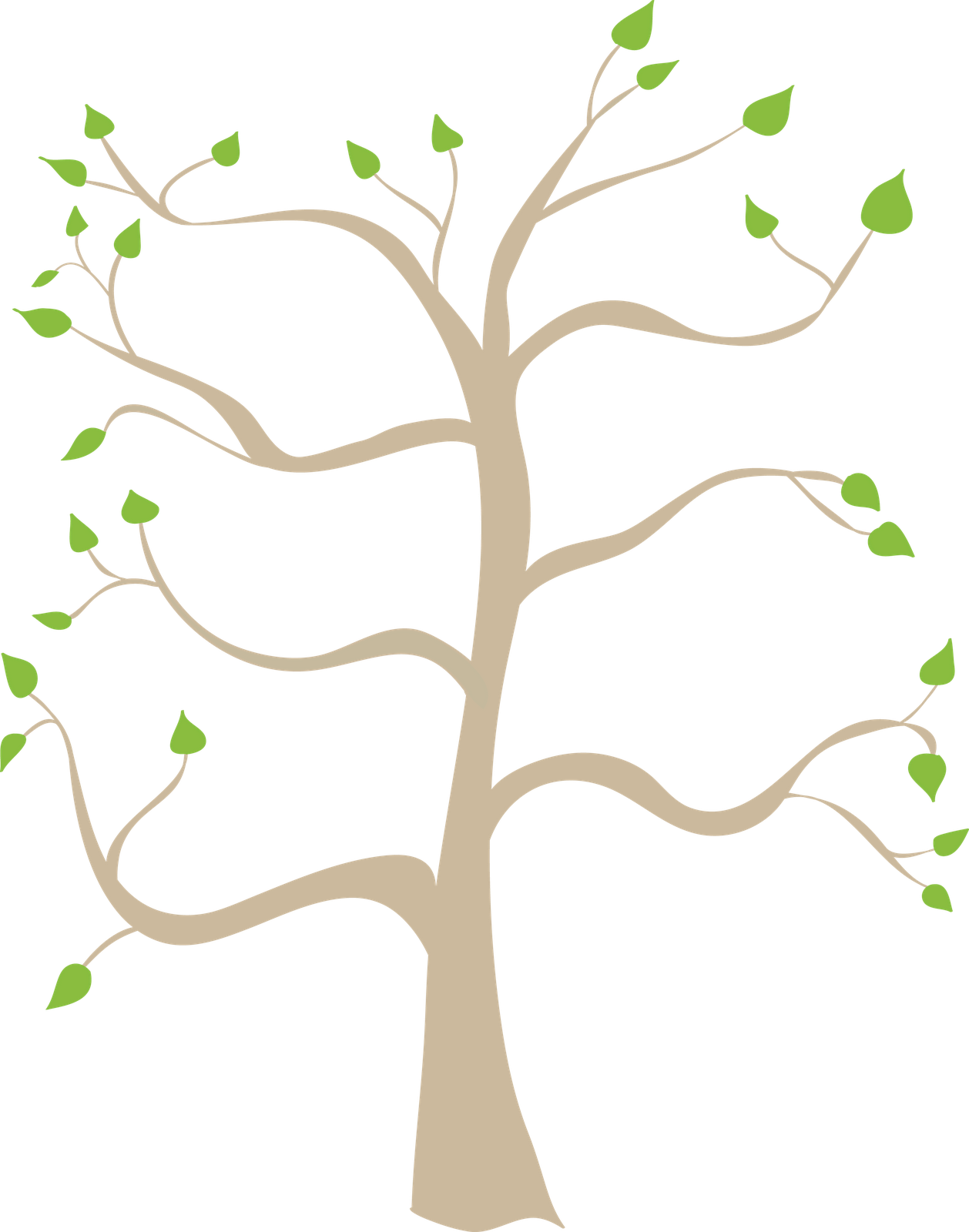 vector black and white stock Branch clipart family tree. Clip art related keywords.