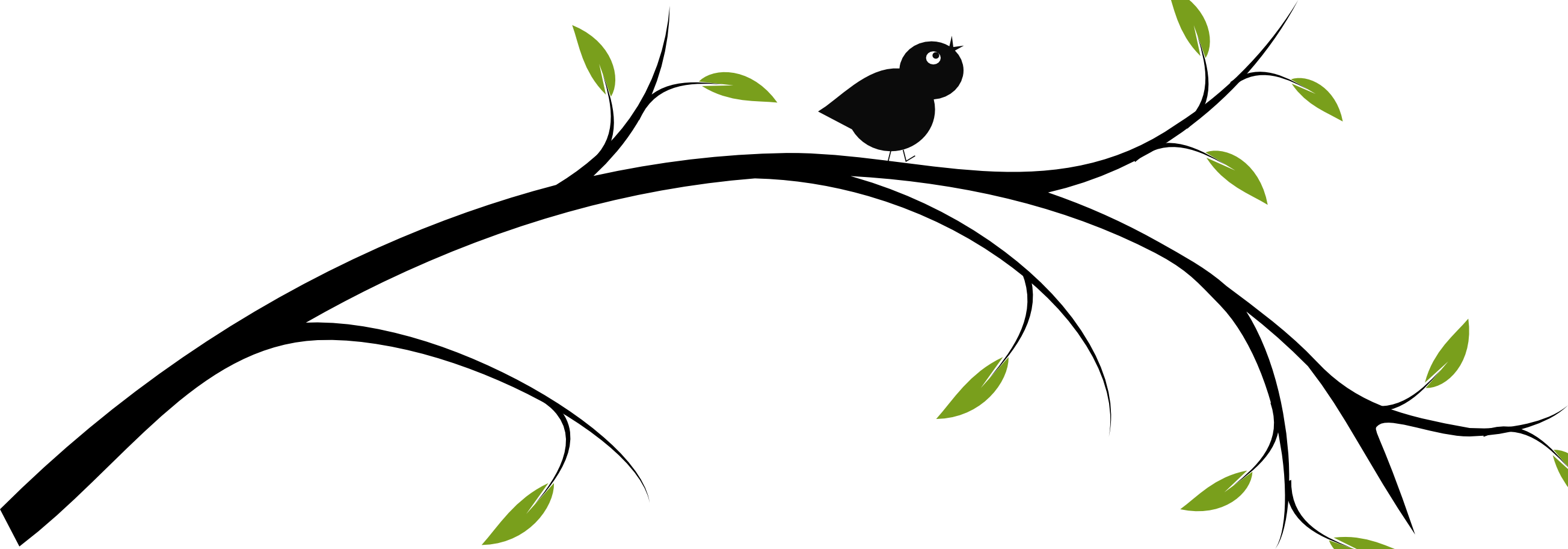 svg freeuse library birds on a branch clip art