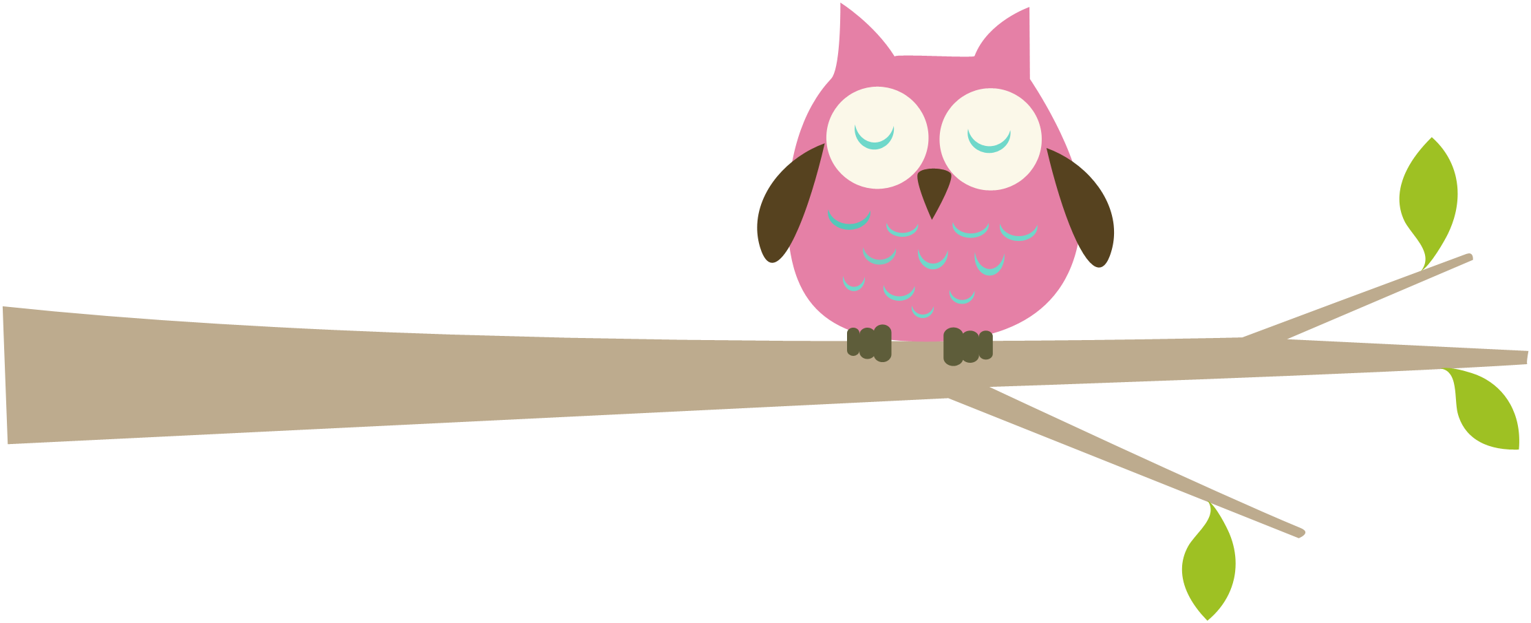 svg black and white Owl on craft projects. Branch clipart woodland branch