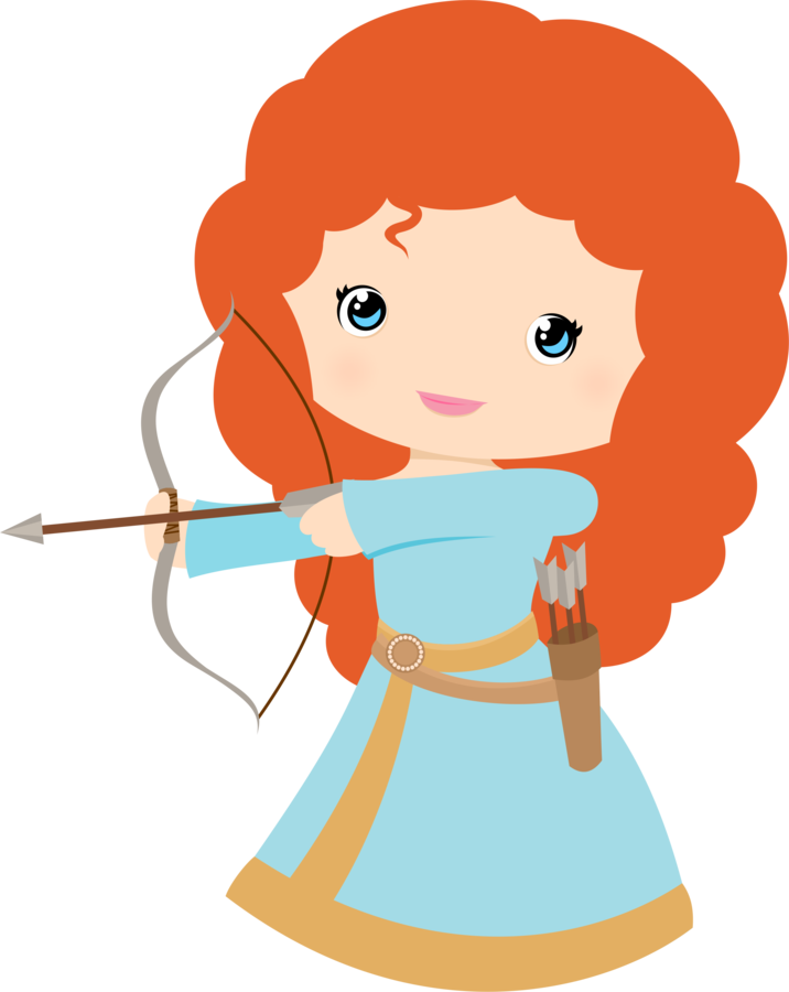 jpg royalty free Brave clipart courageous person. Free princess merida clip.