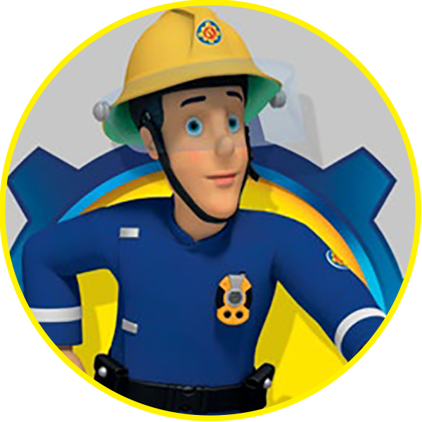 png freeuse library Sam official website elvis. Brave clipart fireman