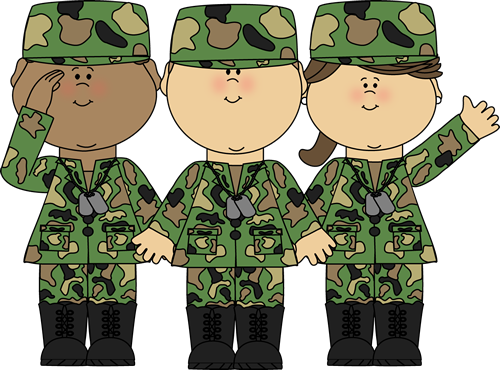 picture royalty free clipart army #56890948
