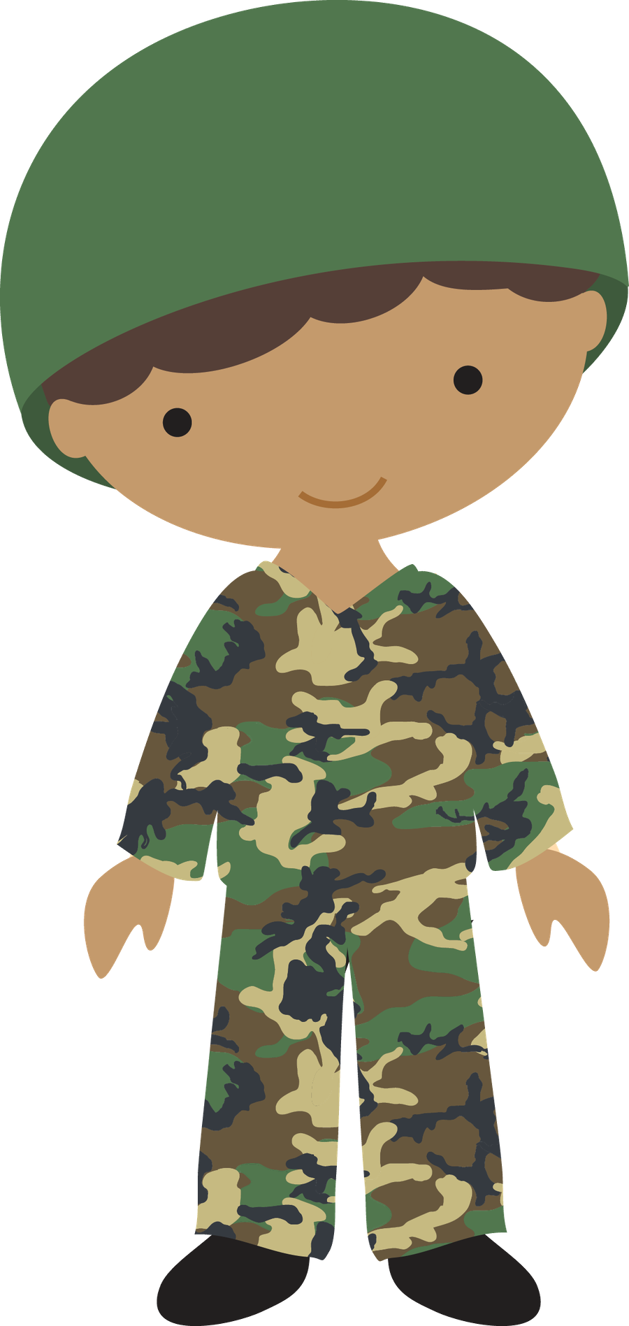 picture transparent Personagens minus an idea. Army man clipart