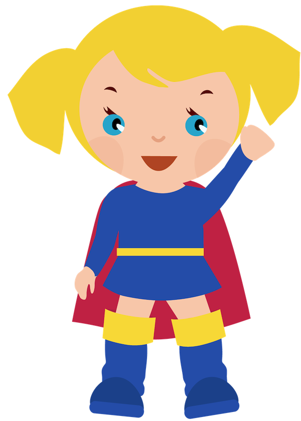 clipart royalty free download Superheroes clipart fight. Female superhero clipartcow supergirl