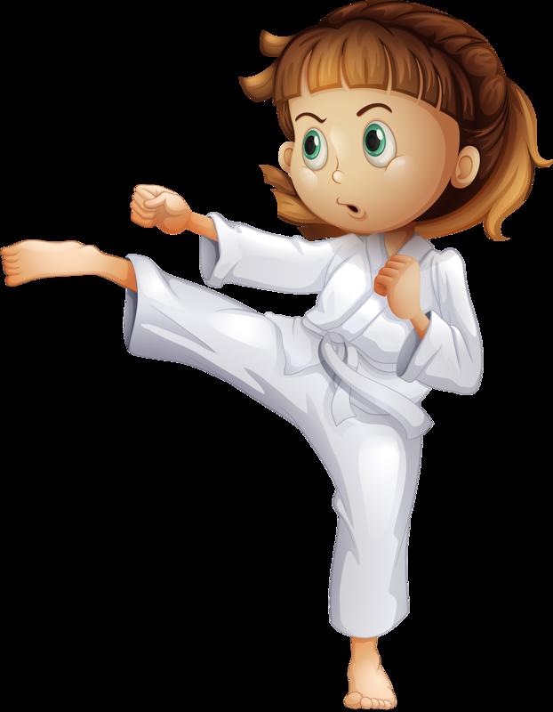 vector transparent stock Brave clipart taekwondo kicks.  png clip art