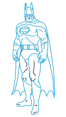 vector freeuse download Batman tutorial at getdrawings. Bikini drawing simple