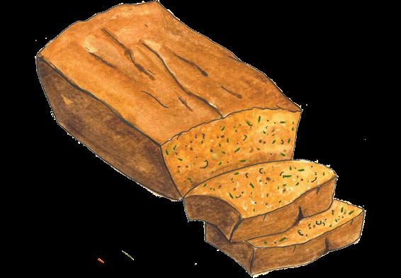 jpg transparent library Bread clipart bread bowl. Zucchini free on dumielauxepices.