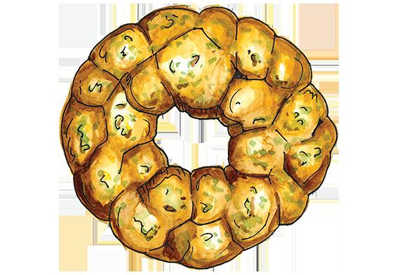 clip transparent download Bread clipart bread bowl. Chicken artichoke spinach monkey.