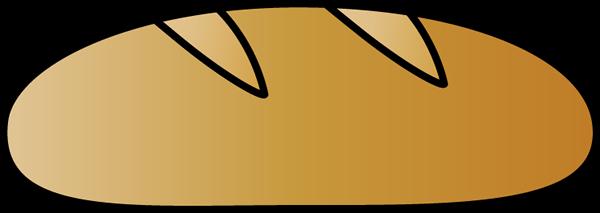 clip royalty free library Clip art image. Bread clipart bread italian