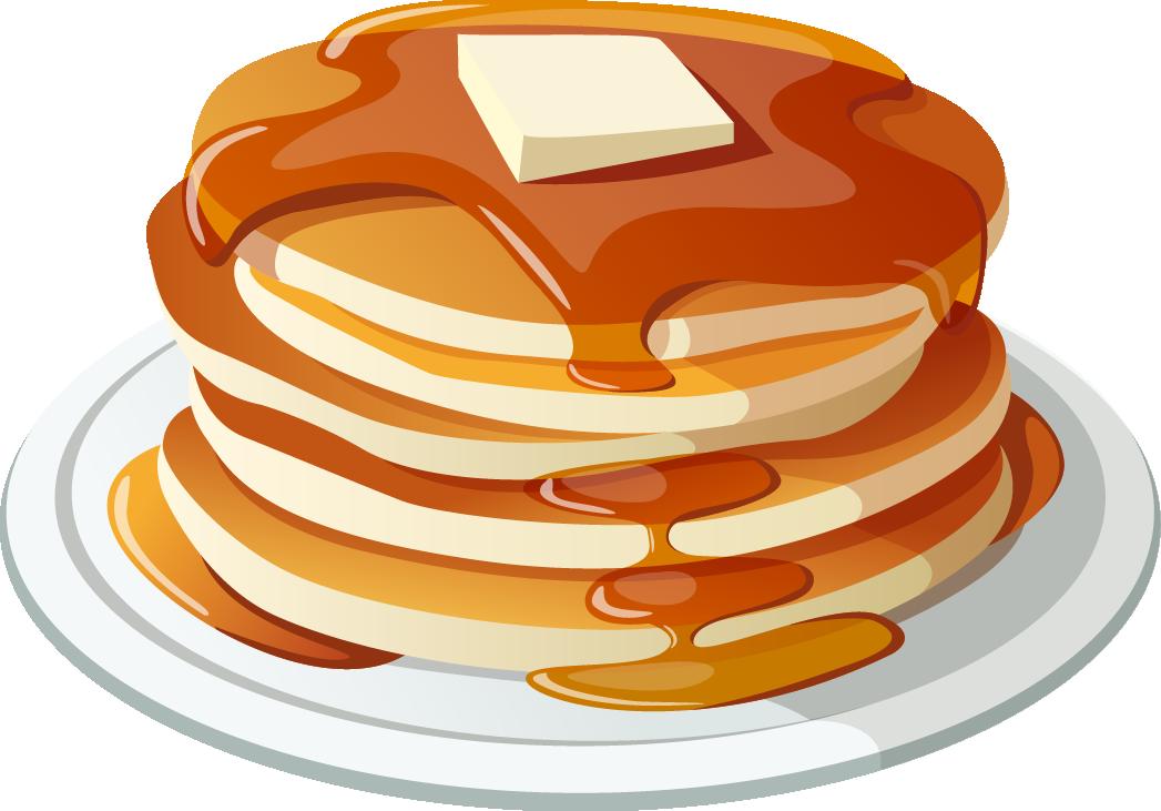 png free stock Pancake breakfast Pancake breakfast Bacon Clip art