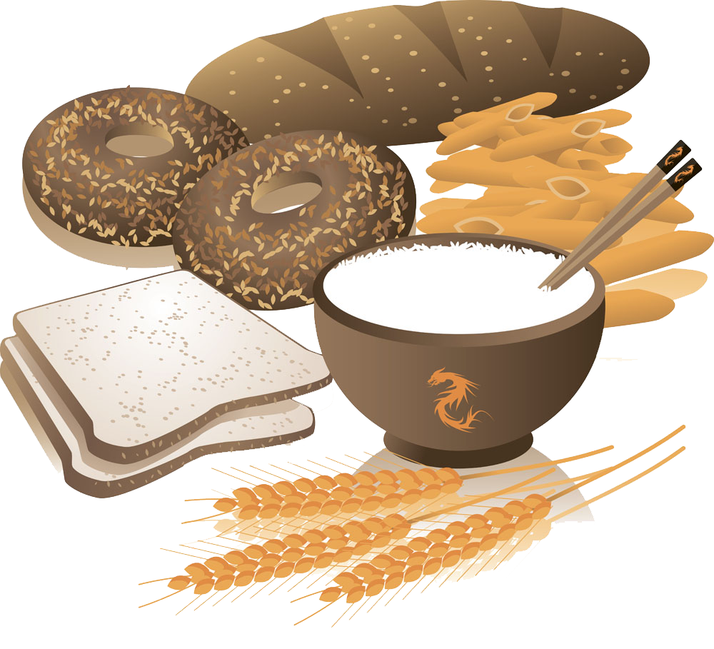 banner freeuse Cereal whole grain wheat. Bread clipart breakfast bread.