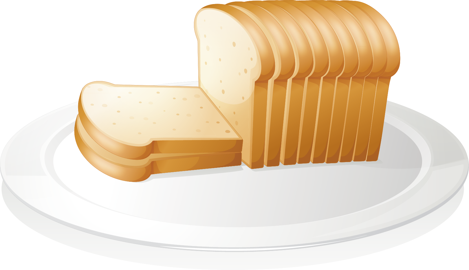 clip art freeuse library Bread clipart breakfast bread. Toast cheese sandwich baguette.