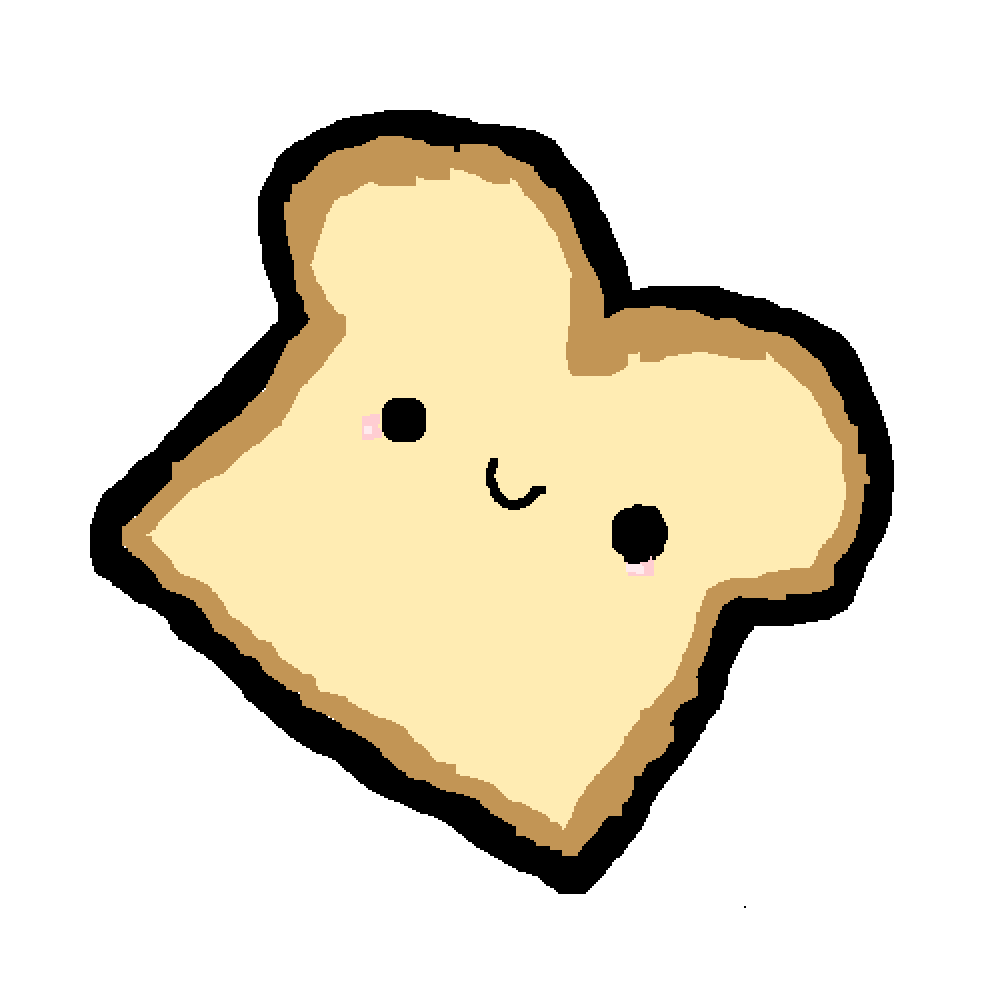 image royalty free download Bread clipart kawaii. Pixilart derpy by derpydrawing