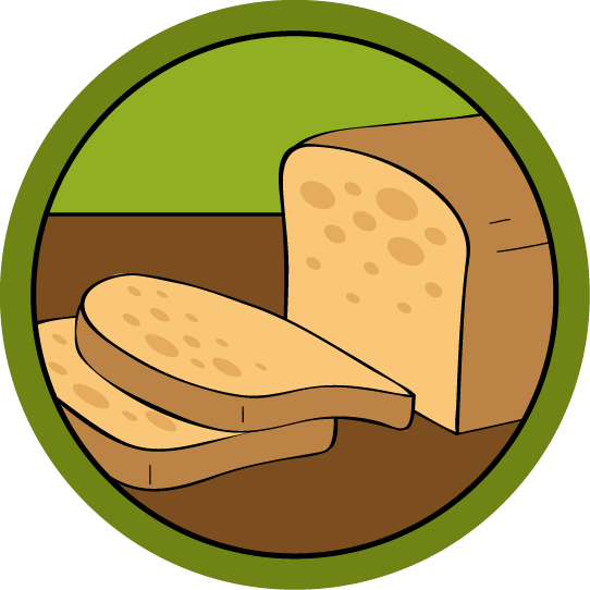 vector library download Free online class. Bread clipart pastry tool.