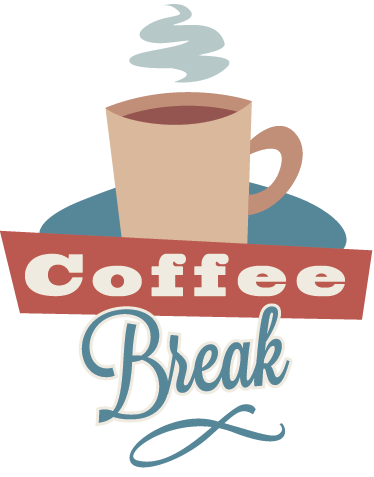 clipart free library Wall sticker tenstickers. Break clipart coffee break