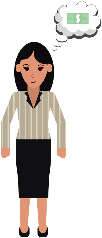 graphic transparent library Break clipart female lawyer. Image royalty free library.